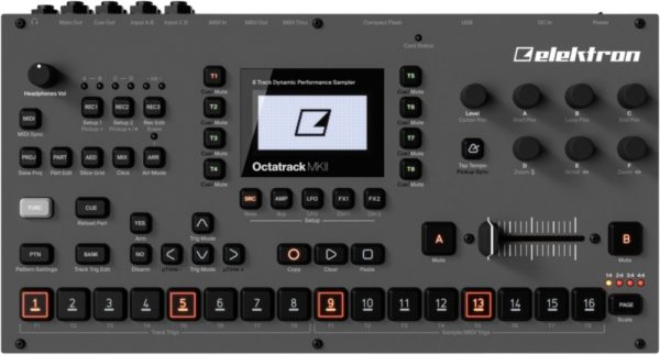 Elektron エレクトロン / Octatrack DPS-1 MK II サンプラー シーケンサー