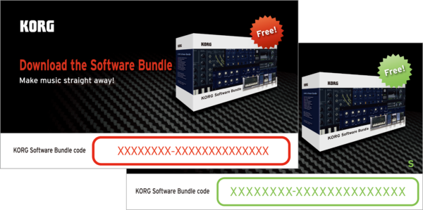 Korg soft ware bundle
