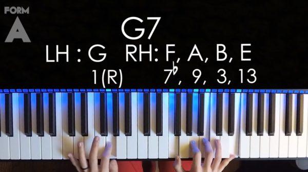 2-5-1のピアノ練習
